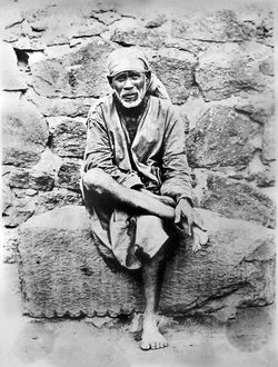 Photograph of Sai Baba (c. 1915)